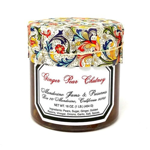 Ginger Pear Chutney 16oz