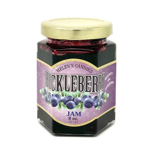 Wild Huckleberry Jam