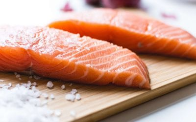 Salmon with a Ginger Apricot Glaze