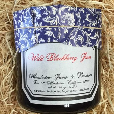 Wild Blackberry Jam 16 oz.