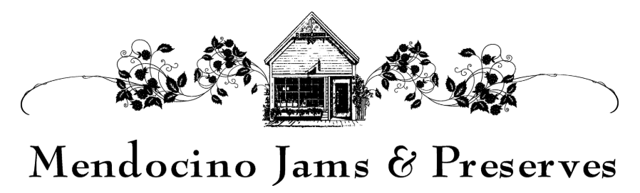 Gourmet Jams and Jellies in Mendocino California Logo